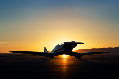 TwoZeroWest Photography: 2012 Reno Air Races &emdash; September (Fate) Sunrise
